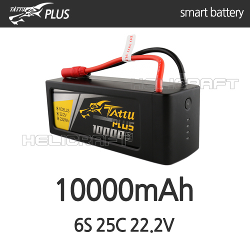 [입고완료][Tattu Plus] 10000mAh 6S 25C 22.2V