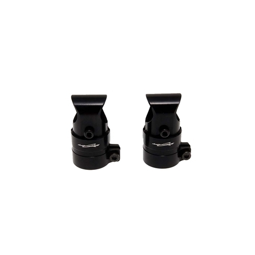 CF-tube holder for 16-16 (Black)