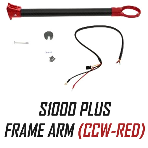 [DJI] S1000 PLUS part 38 Frame Arm (CCW-RED)