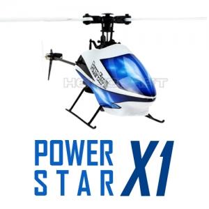 [WLT] RC헬기 6채널 파워스타 X1   Power star x1