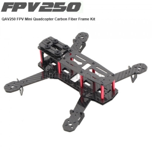 QAV250 Mini RC FPV Quadcopter 4 Axis Aircraft DIY FPV Kit 풀카본재질