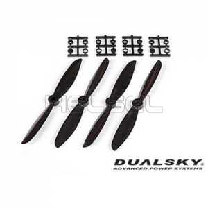 [DUALSKY] 6in Prop' for 250~300 FPV Racing(Black/2 Pair)