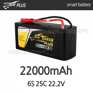 [TATTU PLUS] 22000mAh 6S 25C 22.2V