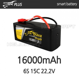 [예약판매][Tattu Plus] 16000mAh 6S 15C 22.2V