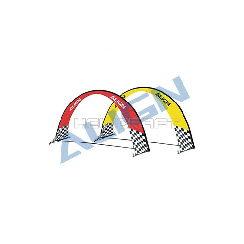 [ALIGN] MR25 Racing Air Gate(RED/Yellow/2 Set)