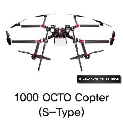 [Gryphon Dynamics] 1000 OCTO Copter (S-Type)