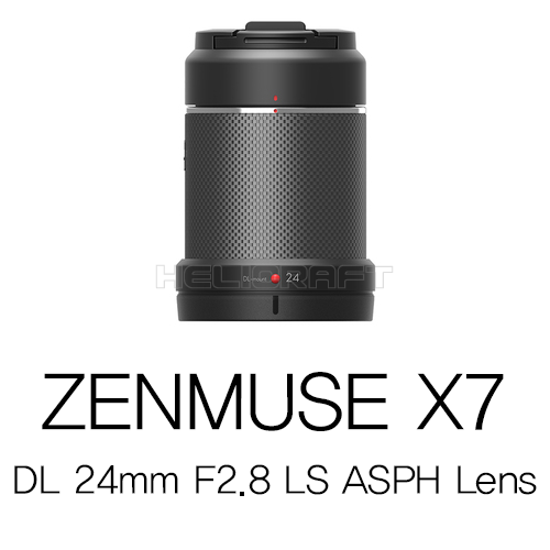 [예약판매][DJI] ZENMUSE X7  DL 24mm F2.8 LS ASPH Lens Part2