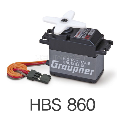 [Graupner/SJ] HBS 860 BB MG Brushless HV Servo