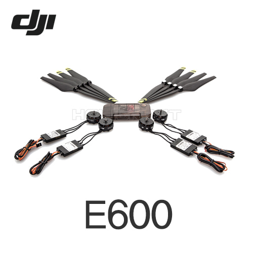 [입고완료][DJI] E600 (Motor*6/ESC, 5 pair props, Accessories pack)