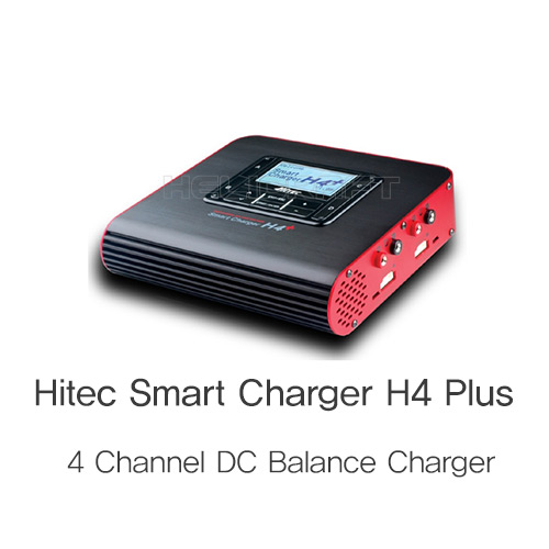 [예약판매][Hitec] Smart Charger H4 PLUS [4 Channel DC Balance Charger]