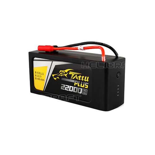 [TATTU PLUS] 22000mAh 6S 25C 22.2V 헬셀