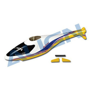 [Align] F3C Fuselage for T-Rex250(Blue/Yellow)