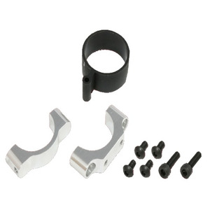[208371] X5 CNC Tail Support Clamp(Silver anodized)