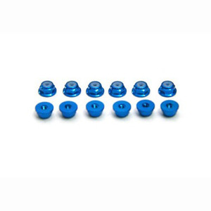 [HT] M2 Self Lock Nut w/Flange(Blue)
