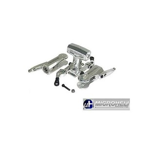 [MH] Precision CNC Aluminum Flybarless Head System for T-Rex500