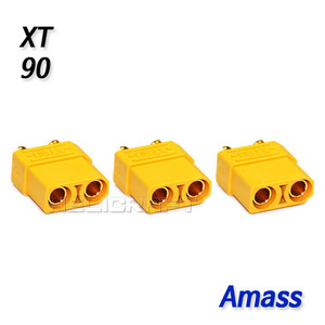 [예약판매] [Amass] XT90 Connector (Female 3pcs / Amass Original)