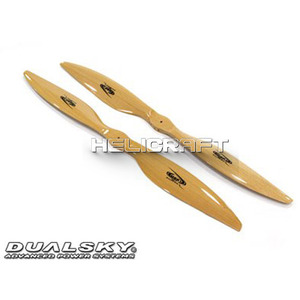 [DUALSKY] MRP BeechWood Prop' for Multicopter(20in/XM Series) - 강력추천!