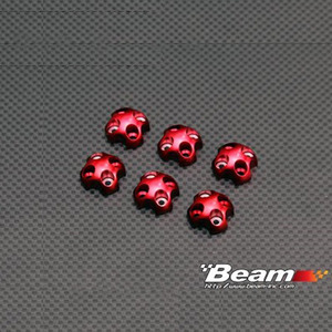 [BEAM] MR Motor Prop' Adaptor Ring(M2.5Hole/6pcs/Hexa) for ST4708