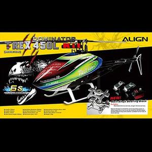 [Align] T-Rex450L DOMINATOR Basic Combo(6S) - 강력추천!