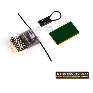 [Xenon-Tech] SPEKTRUM DSMX/DSM2 6ch Receiver (End Pin)