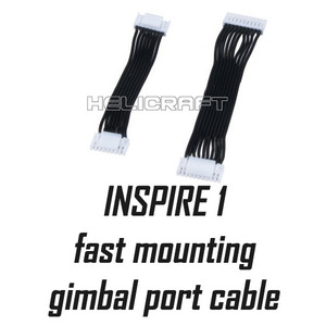 [예약판매][DJI] 인스파이어1 part 17 Fast Mounting Gimbal port cable