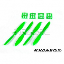 [DUALSKY] 6in Prop' for 250~300 FPV Racing(Green/2 Pair)