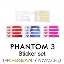 [DJI] 팬텀3 스티커 세트 | PHANTOM 3 Sticker Set (Pro/Adv)