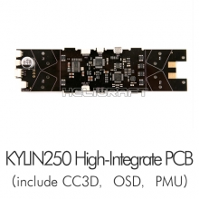 [KDS] Kylin 250 | 킬린 250 High-Integrate PCB (CC3D, OSD, PMU기능 포함)