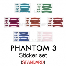 [입고완료][DJI] 팬텀3 스티커 세트| Sticker set(Standard) For Phantom3
