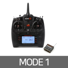 [Spektrum] DX8 Transmitter (w/AR8000 Receiver) - Mode.1