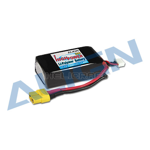 [ALIGN] 3S1P 11.1V 1,300mAh Li-Po Pack for MR25/MR25P