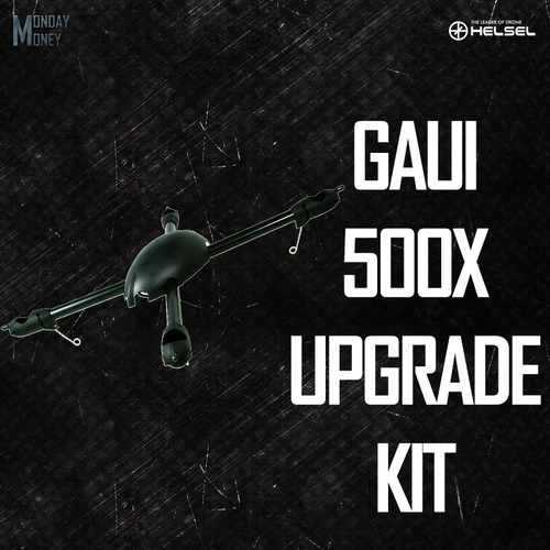500X Quad Flyer Upgrade Kit (Not including Motors, ESCs, GU-344, storage bag)