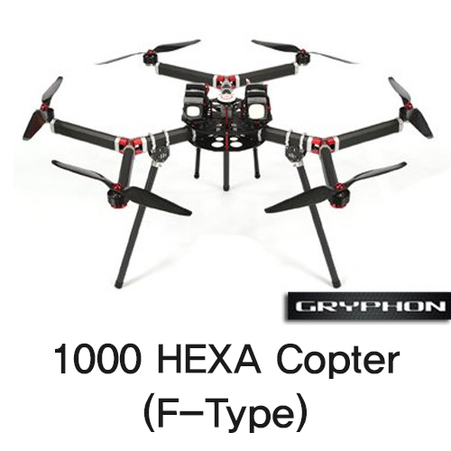 [Gryphon Dynamics] 1000 HEXA Copter (F-Type)