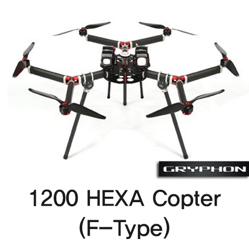 [Gryphon Dynamics] 1200 HEXA Copter (F-Type)