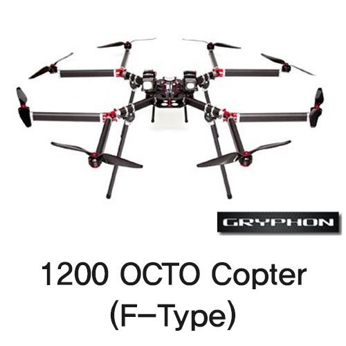 [Gryphon Dynamics] 1200 OCTO Copter (F-Type)