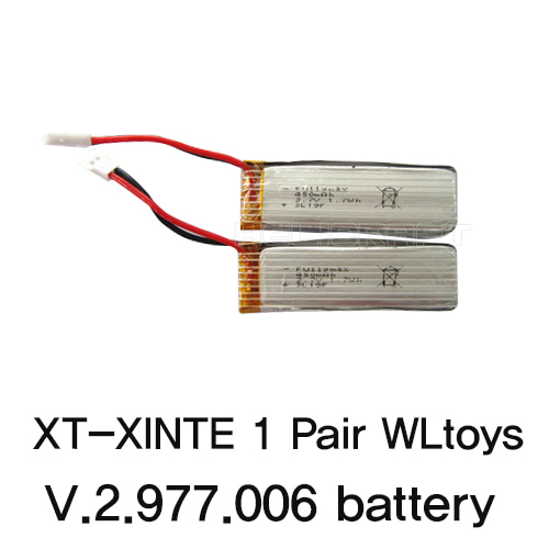 [WLToys] XT-XINTE 1 Pair V.2.977.006 Battery