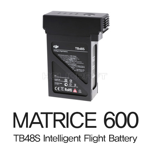 [예약판매][DJI] MATRICE 600 TB48S Intelligent Flight Battery | part 10 | 매트리스600 5700mAh,22.8v