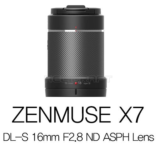 [예약판매][입고완료][DJI] ZENMUSE X7 DL-S 16mm F2.8 ND ASPH Lens