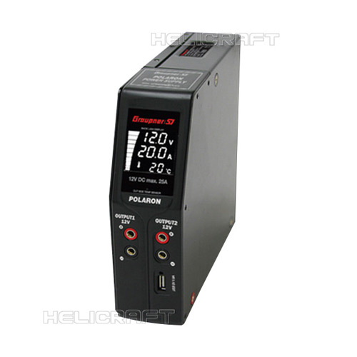 [예약판매][Graupner/SJ] POLARON SMPS_Power Supply (12V 25A SMPS)
