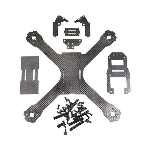 QAV-X 210 carbon fiber kit 헬셀