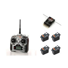 [Spektrum] DX6i DSMX Full Range MicroLite Set (w/AR6115e/4 Servo, Mode.1) - 2.4GHz