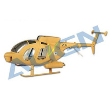 [Align] T-Rex600 Scale Fuselage MD500 (Tow Launcher Type) - 추천!