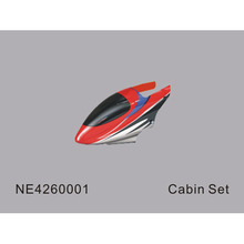 (솔로프로)Cabin Set (Red) (NE4260001)(NE4260042)