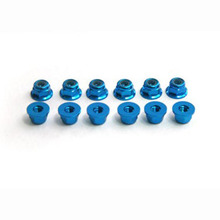 [HT] M3 Self Lock Nut w/Flange(Blue)