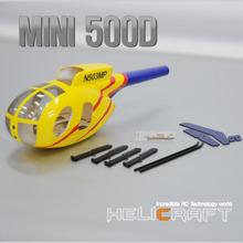 [HeliArtist] Mini 500D Fiber Glass Fuselage