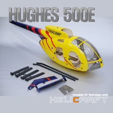 [HeliArtist] 500E 600 Size (Open Door) Fiber Glass Fuselage