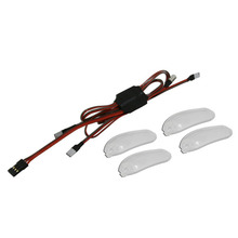 LED Light Set (2 White LED, 2 Red LED, 4 transparent covers)