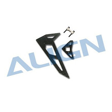 [Align] 450 Sports V2 CF Stabilizer/1.4mm w/Metal Vertical Stab'Mount - 강력추천!