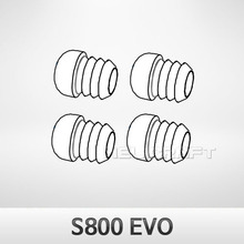 [DJI] S800 EVO Silicone Rubber of H-Frame(4pcs) (Package NO.30)
